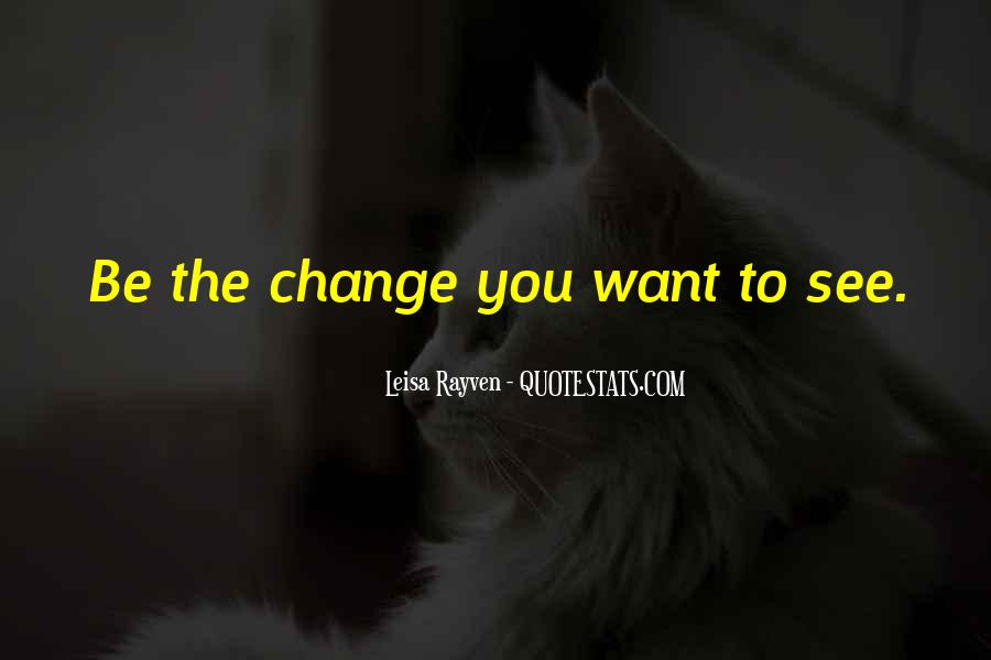 Leisa Rayven Quotes #1013323