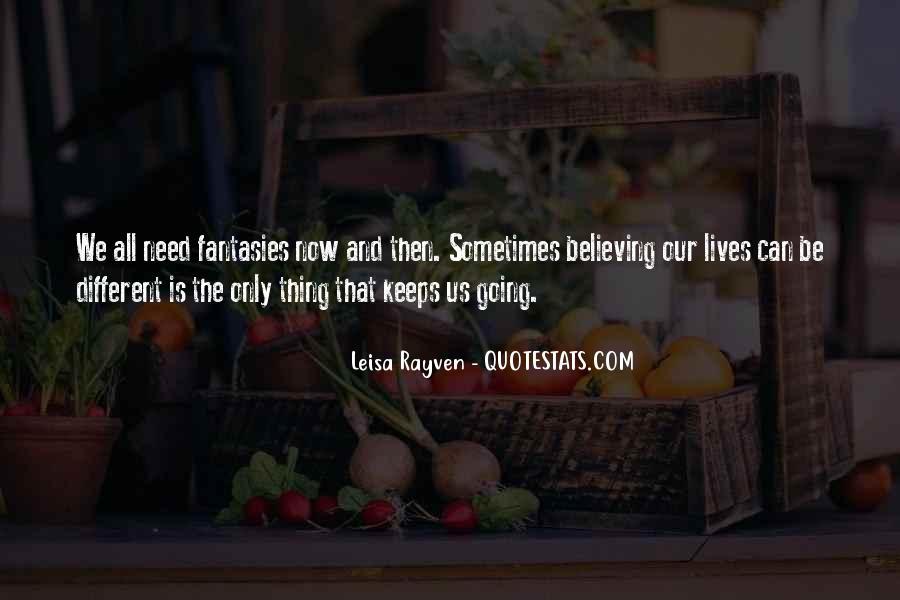 Leisa Rayven Quotes #103472