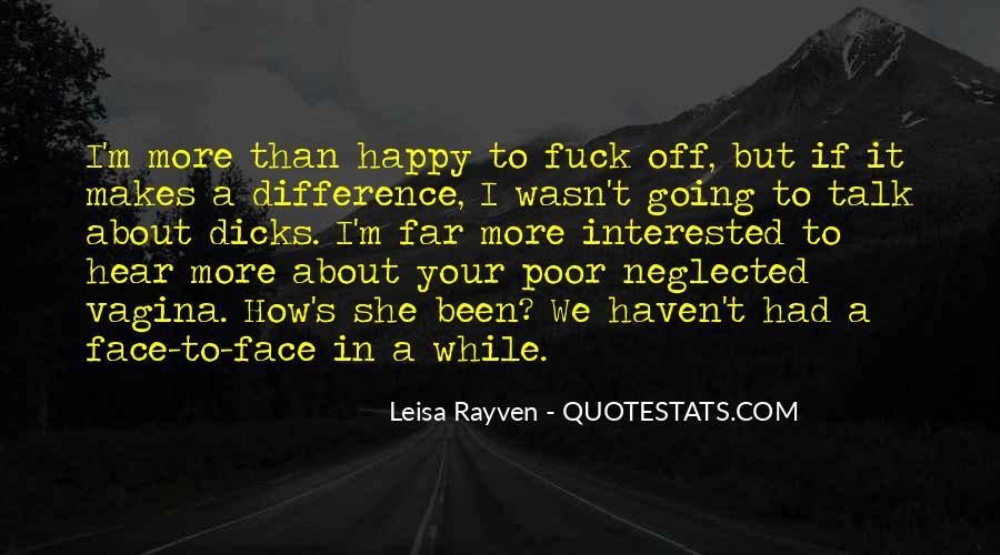 Leisa Rayven Quotes #1156615
