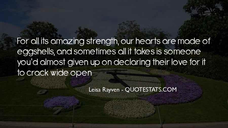 Leisa Rayven Quotes #1303762