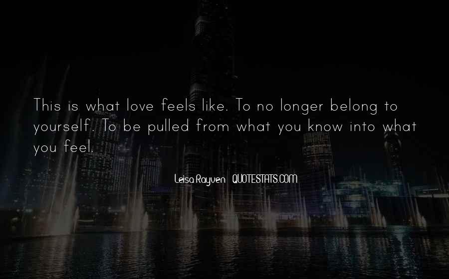 Leisa Rayven Quotes #1350418