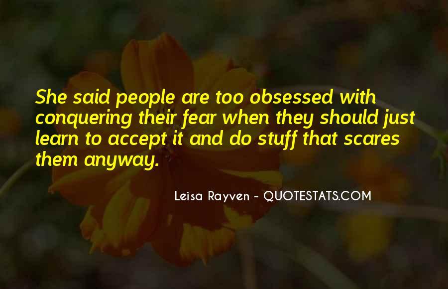 Leisa Rayven Quotes #1382281