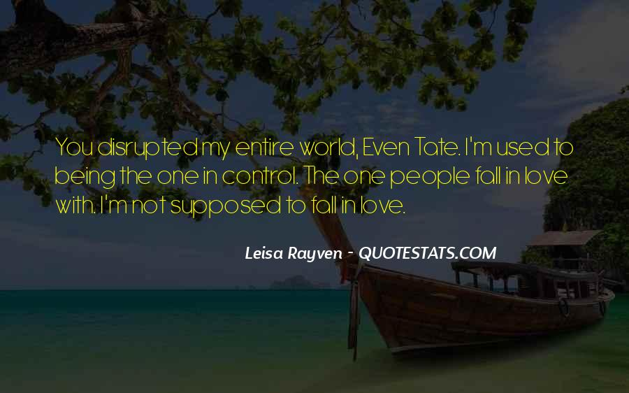 Leisa Rayven Quotes #1405241
