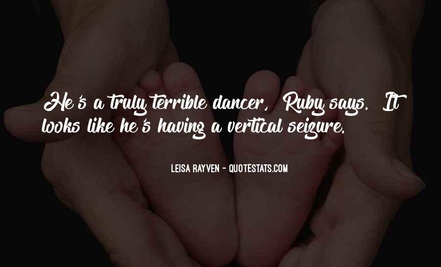 Leisa Rayven Quotes #1554824
