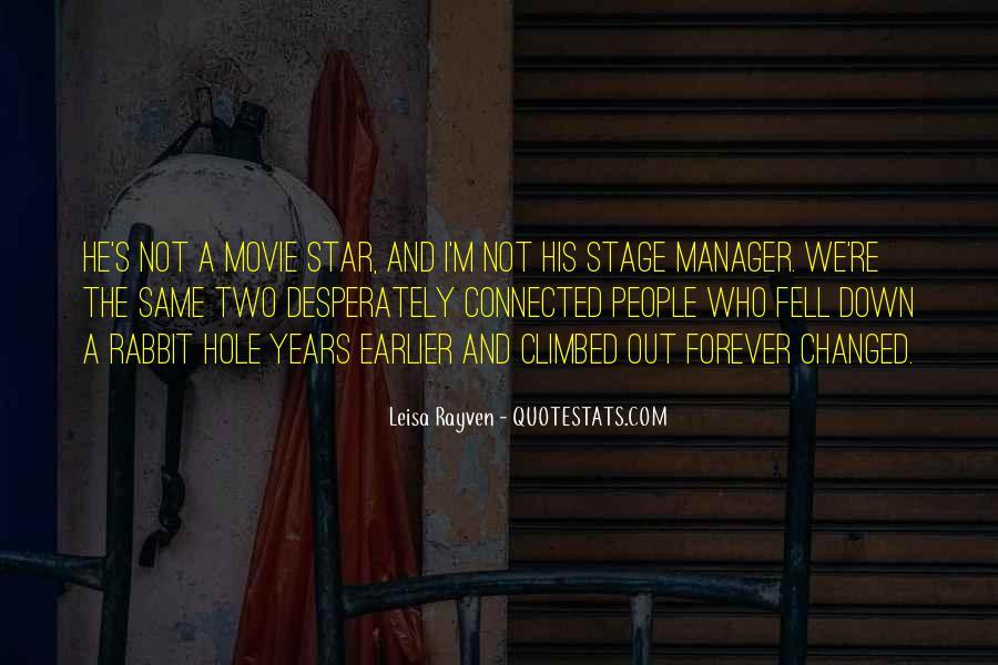 Leisa Rayven Quotes #1574811