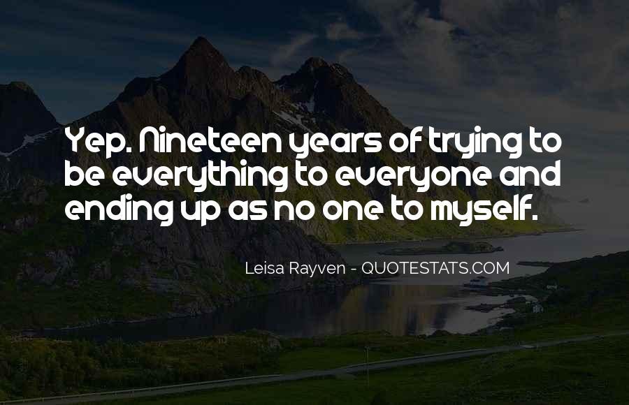 Leisa Rayven Quotes #1639138