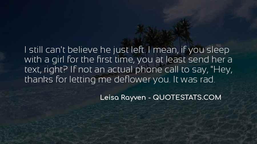 Leisa Rayven Quotes #1830202