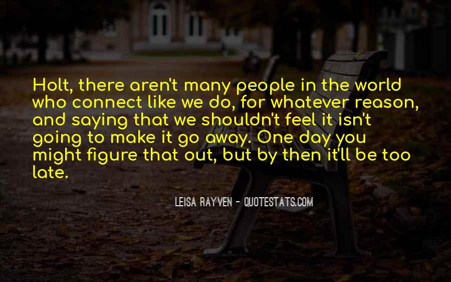 Leisa Rayven Quotes #330055