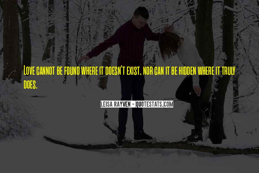 Leisa Rayven Quotes #592295