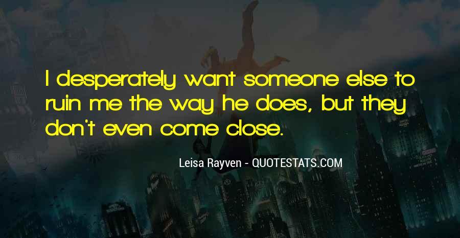Leisa Rayven Quotes #738973