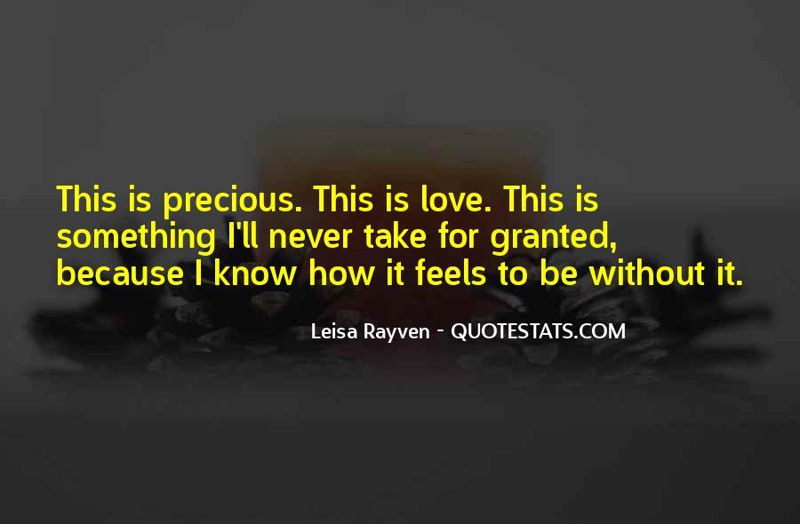 Leisa Rayven Quotes #776211