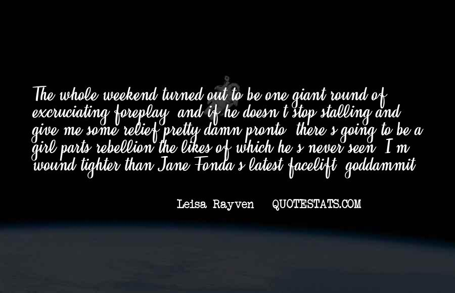 Leisa Rayven Quotes #834510