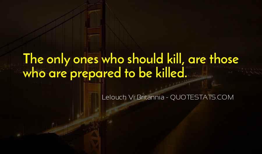 Lelouch Vi Britannia Quotes #1296168