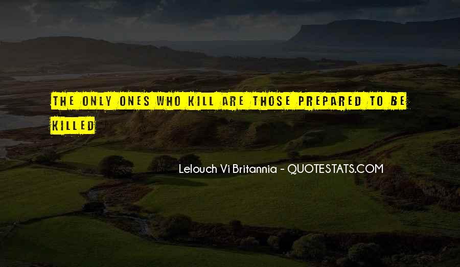 Lelouch Vi Britannia Quotes #1783890