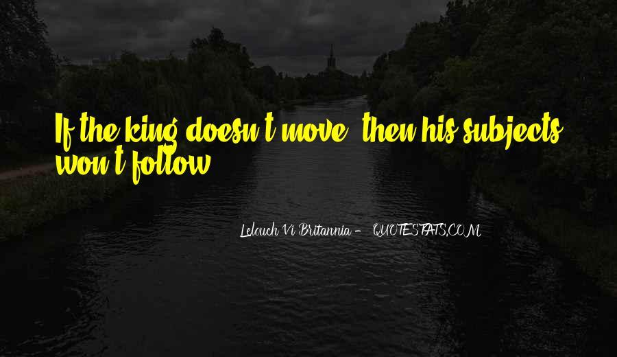 Lelouch Vi Britannia Quotes #1789974