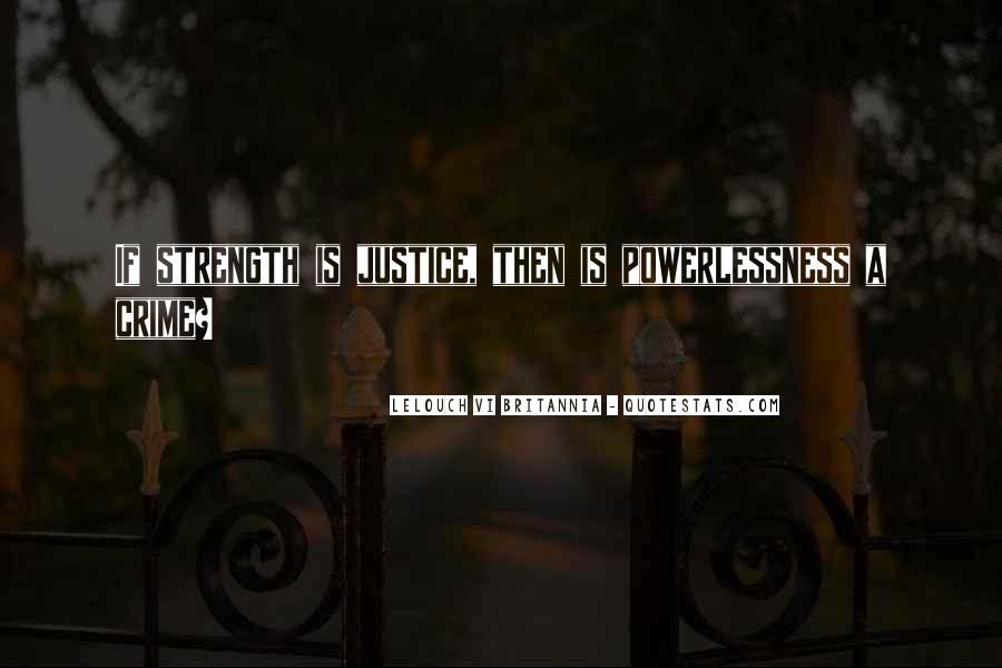 Lelouch Vi Britannia Quotes #60931