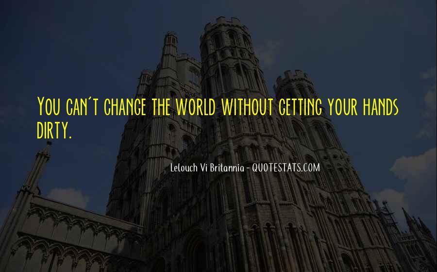 Lelouch Vi Britannia Quotes #940172