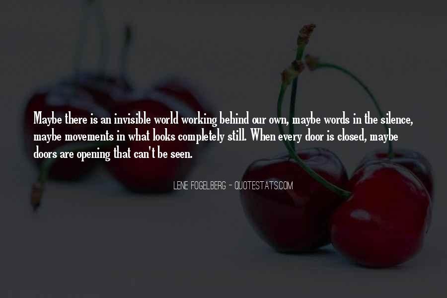 Lene Fogelberg Quotes #1149143