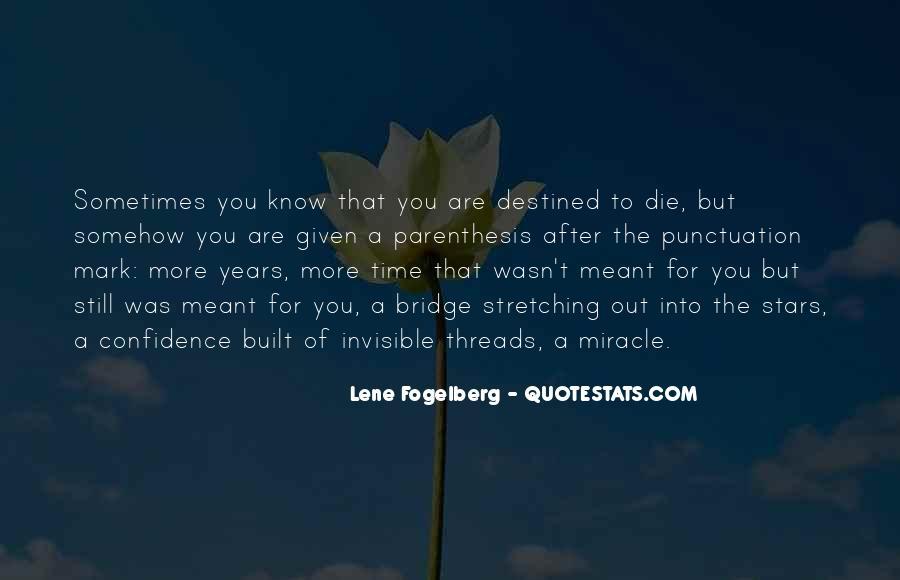 Lene Fogelberg Quotes #55857