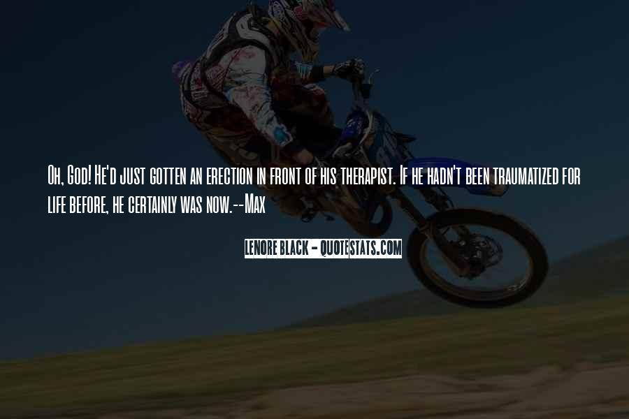Lenore Black Quotes #870134