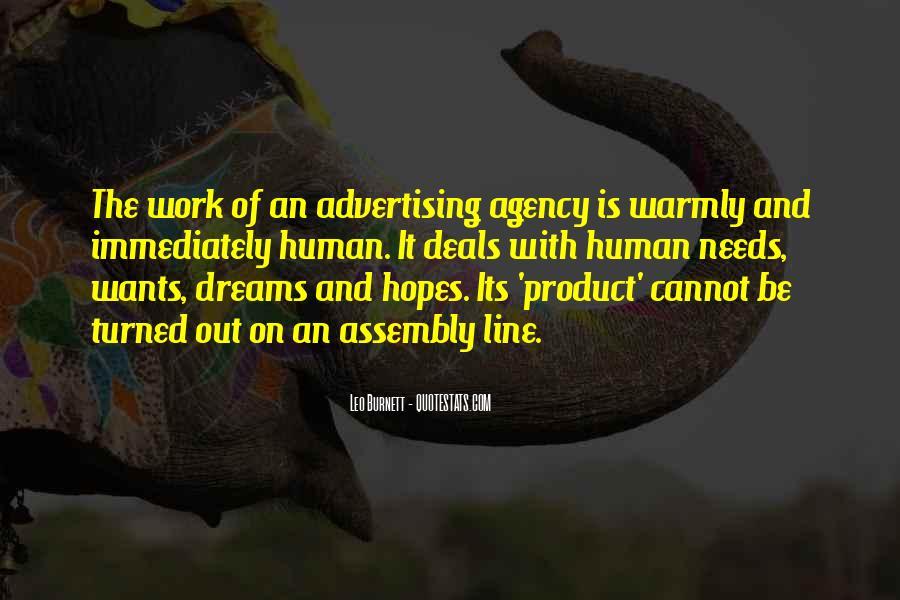 Leo Burnett Quotes #1185164