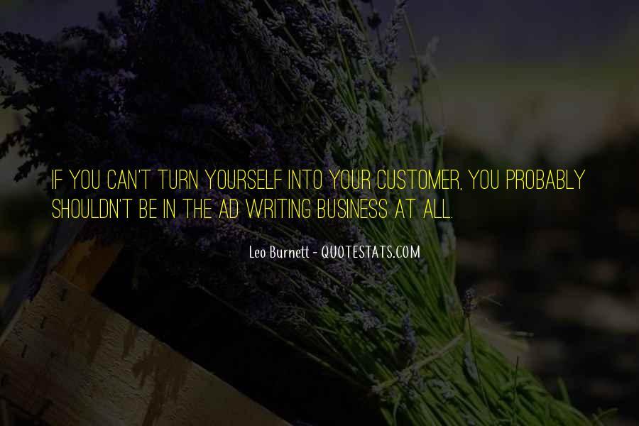 Leo Burnett Quotes #1342056