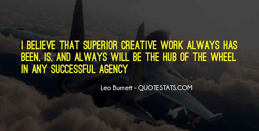 Leo Burnett Quotes #136654