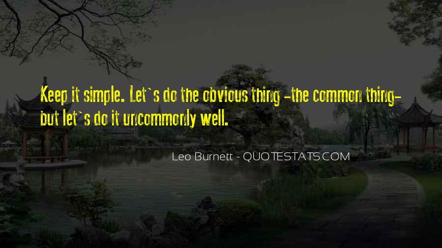 Leo Burnett Quotes #154172