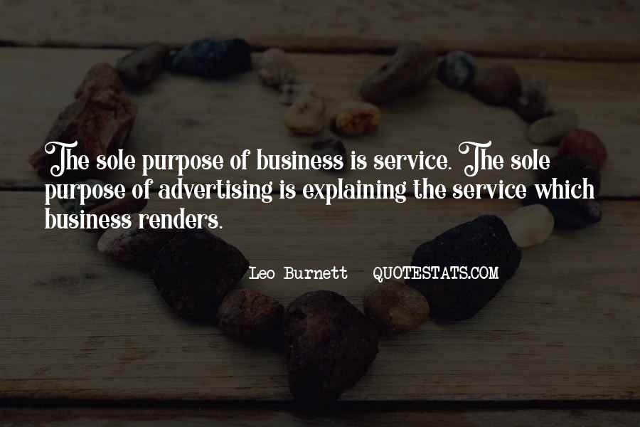 Leo Burnett Quotes #175889