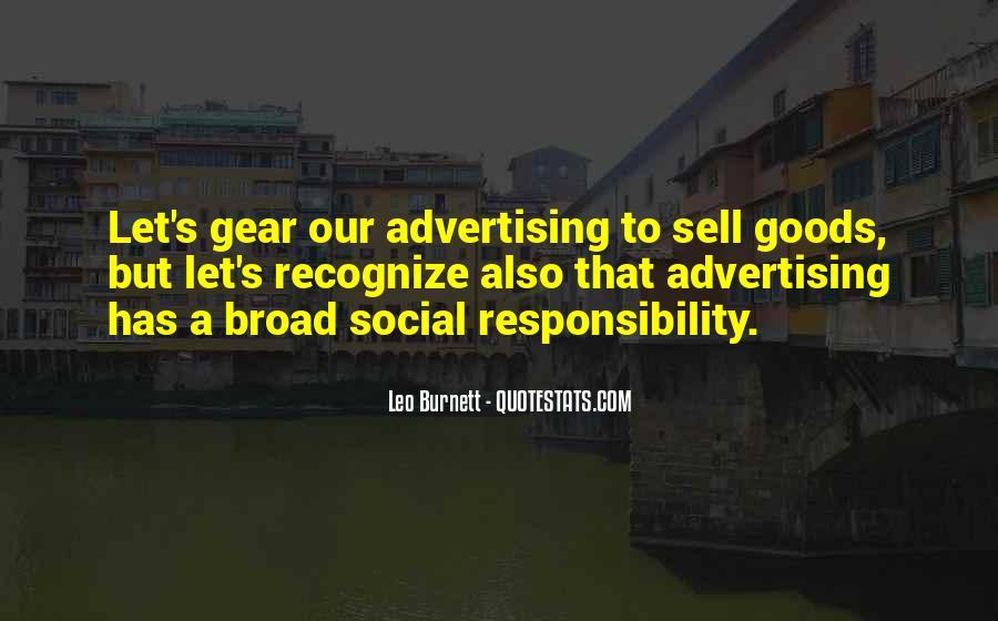Leo Burnett Quotes #257662