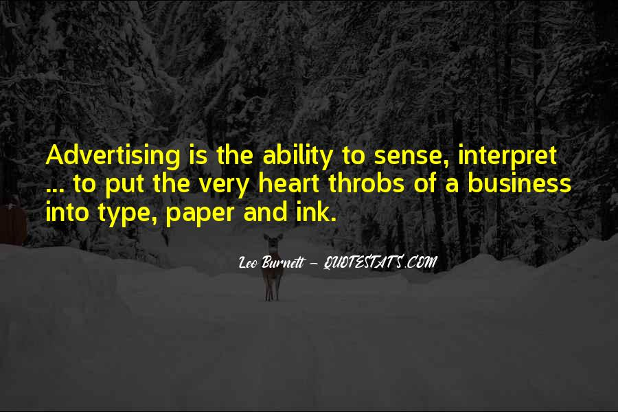 Leo Burnett Quotes #843402