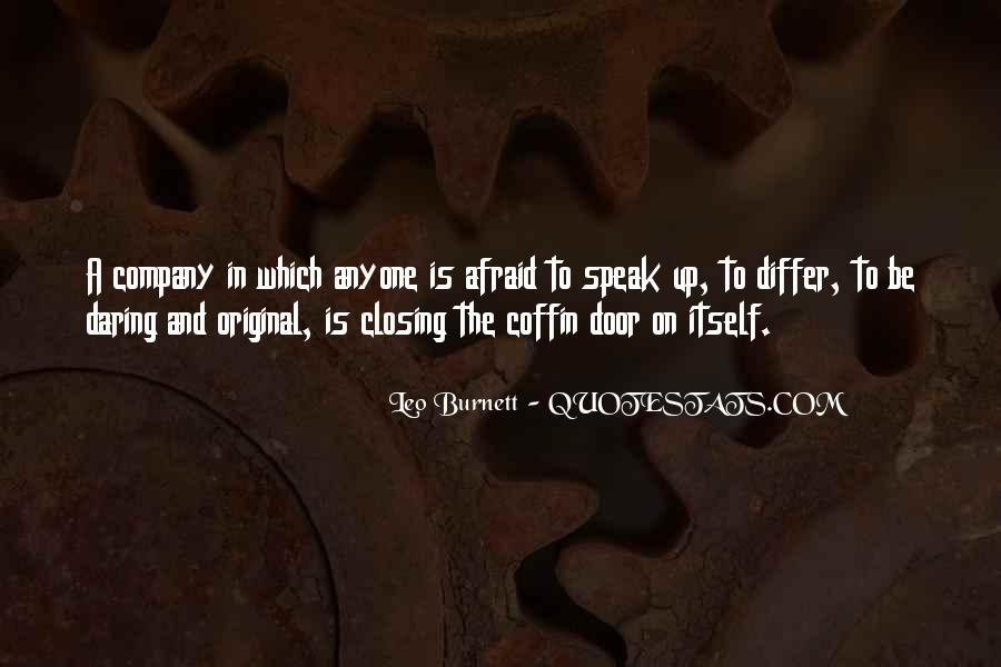 Leo Burnett Quotes #957973