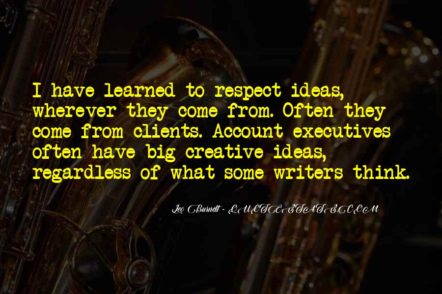 Leo Burnett Quotes #980344