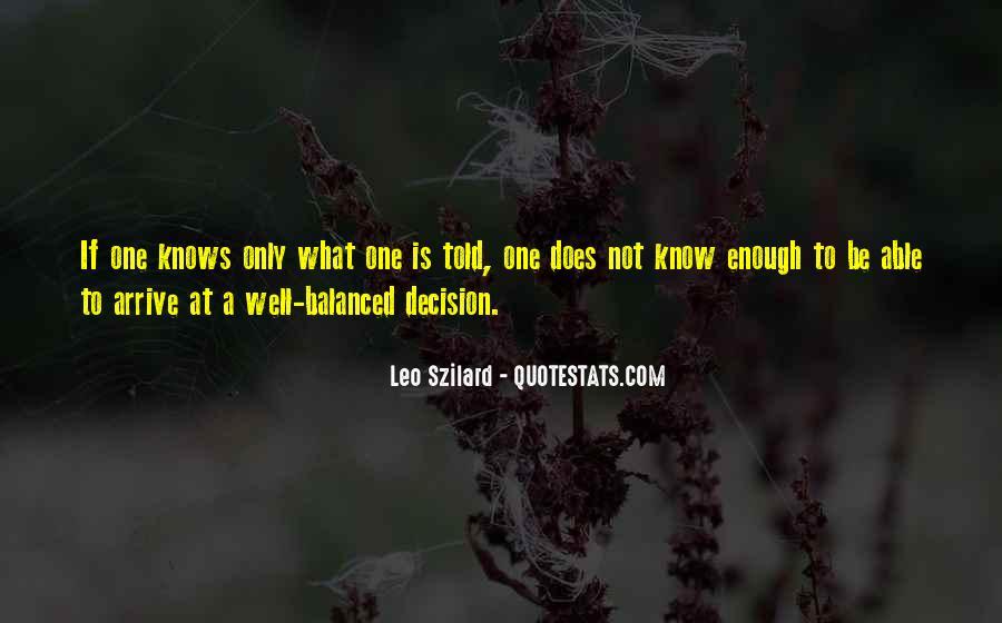 Leo Szilard Quotes #1313855