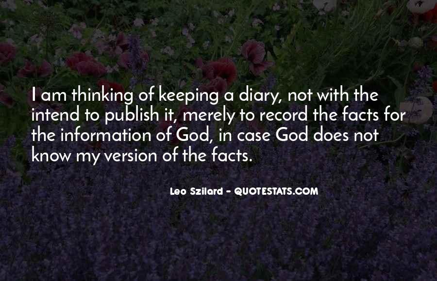 Leo Szilard Quotes #1434796
