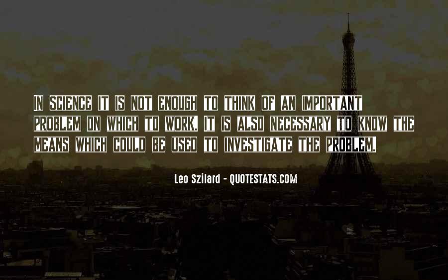 Leo Szilard Quotes #1508302
