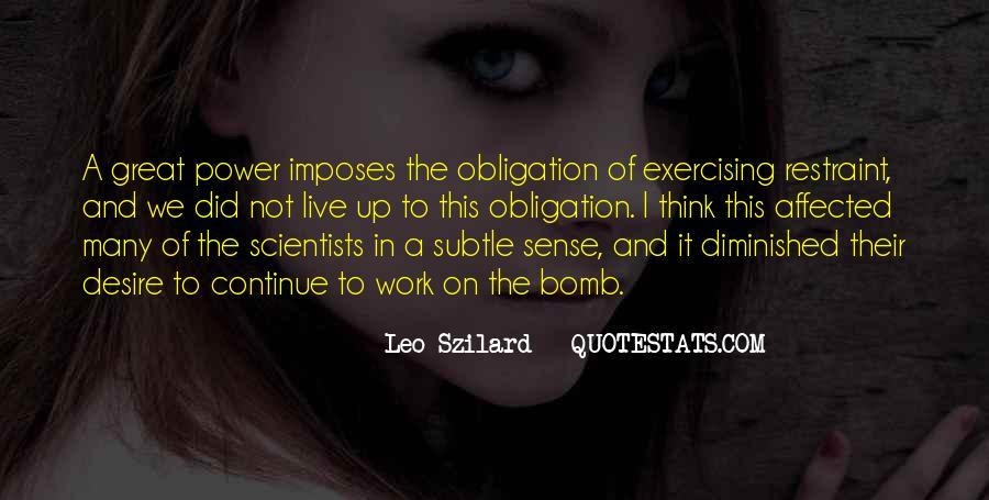 Leo Szilard Quotes #1721515