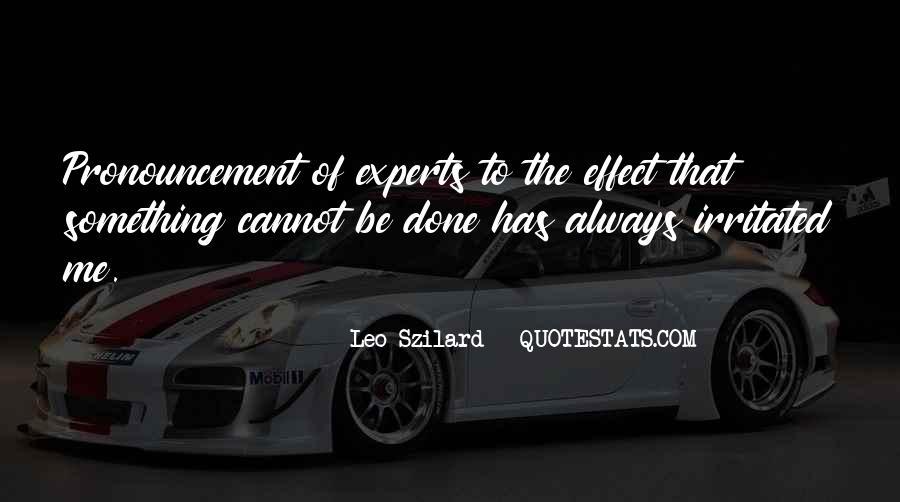 Leo Szilard Quotes #965254