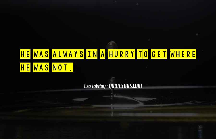Leo Tolstoy Quotes #1101777