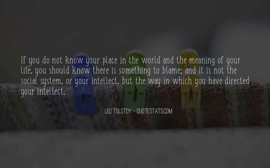 Leo Tolstoy Quotes #1252446