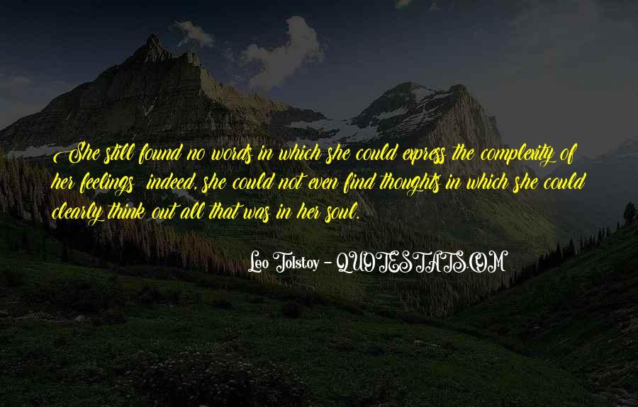 Leo Tolstoy Quotes #1370059