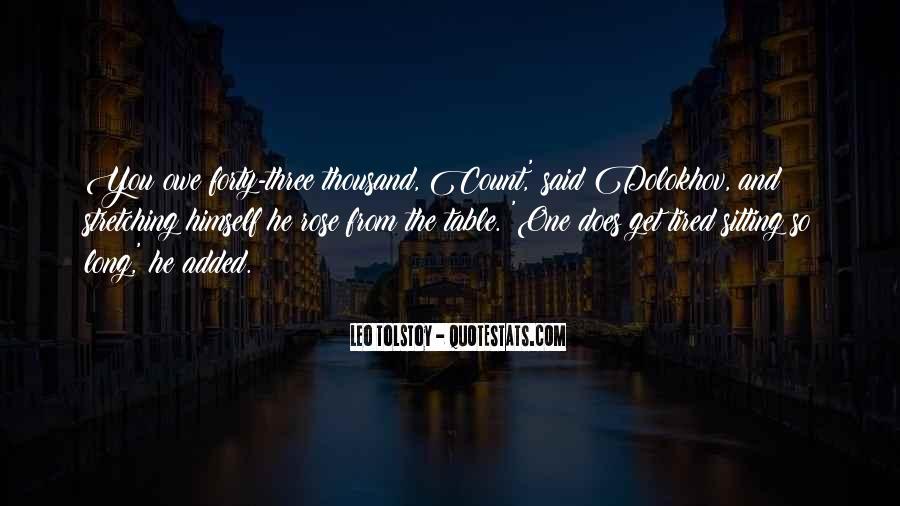 Leo Tolstoy Quotes #1570234