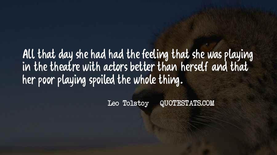 Leo Tolstoy Quotes #1570548