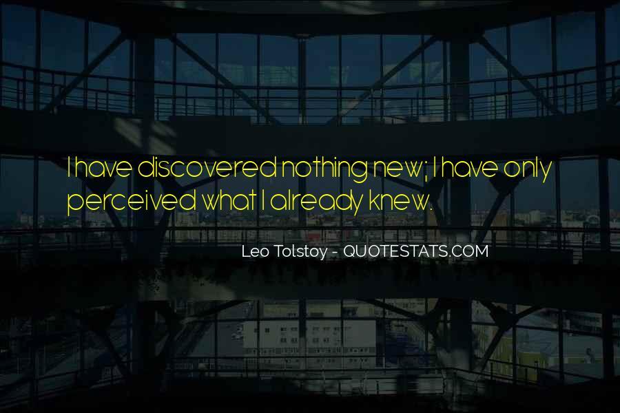 Leo Tolstoy Quotes #1816565