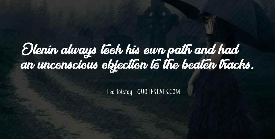 Leo Tolstoy Quotes #216448