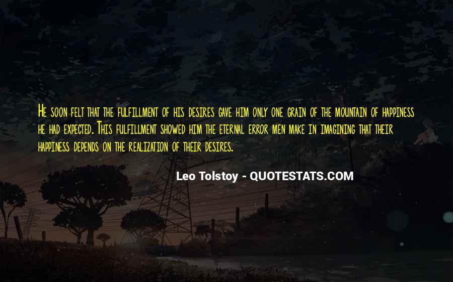 Leo Tolstoy Quotes #344137