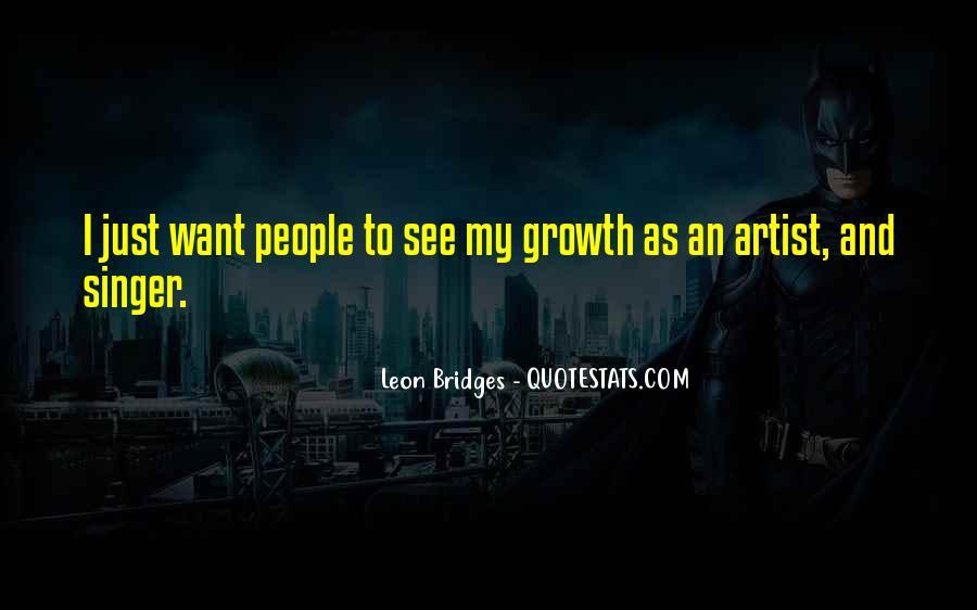 Leon Bridges Quotes #1021542