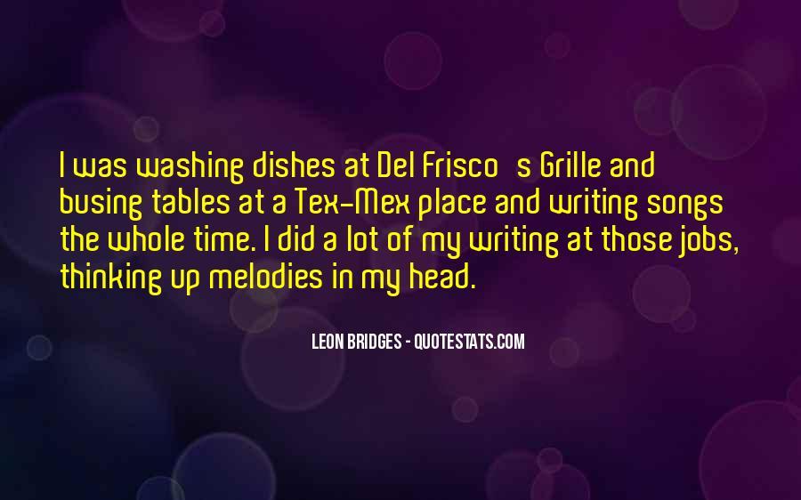 Leon Bridges Quotes #1044324