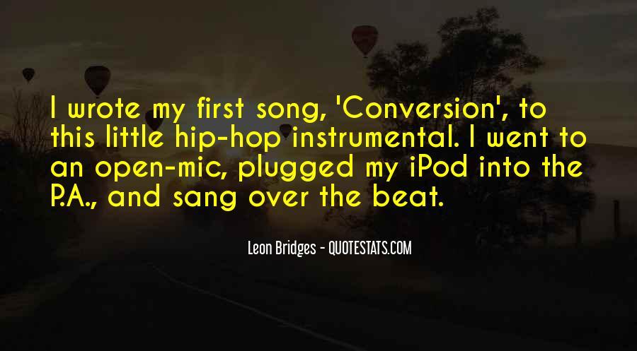 Leon Bridges Quotes #1192896