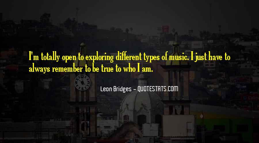 Leon Bridges Quotes #1776194